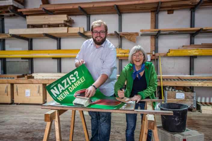 Reportageshooting zur Landtagsbroschüre • Stefanie Seemann & Alexander Maier