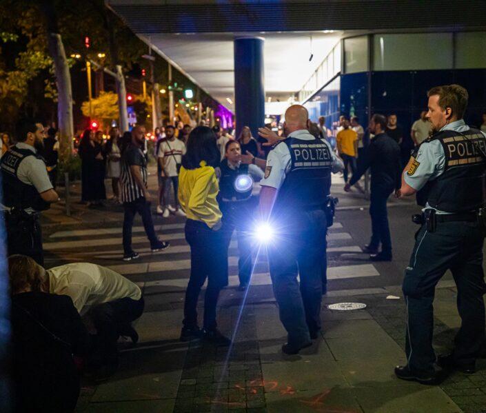 Polizeieinsatz - Innenstadt Stuttgart